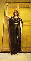 The Priestess, 1895, godward