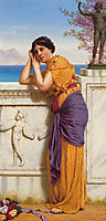 Rich Gifts Wax Poor When Lovers Prove Unkind, 1916, godward