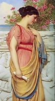 Sappho, 1910, godward