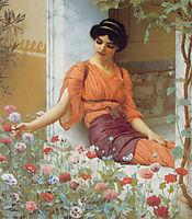 Summer Flowers, 1903, godward
