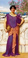 The Tambourine Girl, 1909, godward