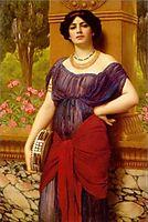 The Tambourine Player, 1909, godward