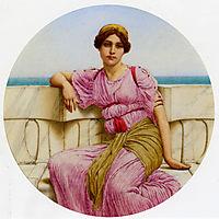 On The Terrace, 1918, godward