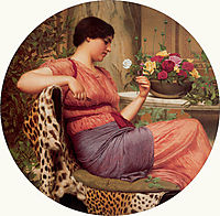 The Time of Roses, 1916, godward