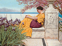 Under the Blossom that Hangs on the Bough, 1917, godward