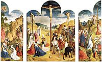 Calvary Triptych, 1468, goes