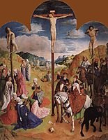 Calvary Triptych (Central panel), 1468, goes