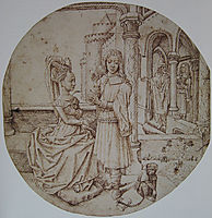 Joseph and Asenath, c.1475, goes