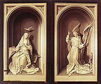 The Portinari Triptych (Close), 1478, goes