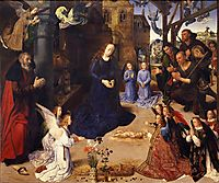 The Portinari tryptich (middle panel), 1478, goes