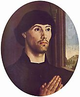 Portrait Of A Man, 1475, goes
