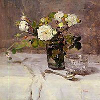 Roses in a Glass, c.1882, gonzales