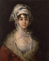 Actress Antonia Zarate, c.1811, goya