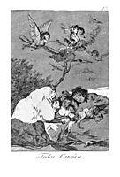 All will fall, 1799, goya