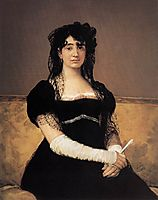 Antonia Zárate, c.1805, goya