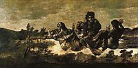 Atropos (The Fates), 1823, goya