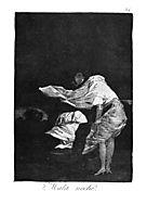 Bad night, 1799, goya
