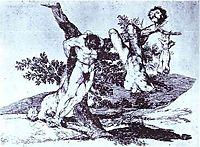 Bazan Grande! With Dead, 1814, goya