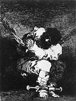 The Captivity is as Barbarous as the Crime, c.1815, goya