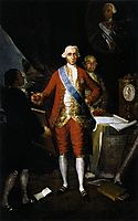 The Count of Floridablanca, 1783, goya