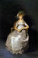 The Countess of Chinchon, 1800, goya