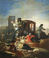 The Crockery Vendor, 1779, goya