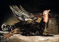 Dead turkey, 1812, goya