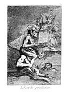 The Devout Profession, 1799, goya