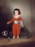 Don Manuel Osorio Manrique de Zuniga, c.1787, goya