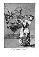 Don-t scream, silly, 1799, goya