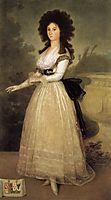 Dona Tadea Enriquez Arias, 1793-94, goya