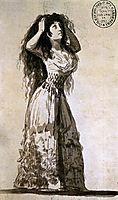 The Duchess of Alba Arranging her Hair, 1796, goya