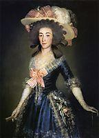 Duchess Countess of Benavente, 1785, goya