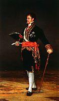 Duke of San Carlos, 1815, goya