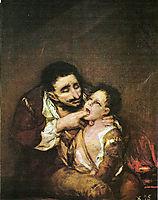 El Lazarillo de Tormes, 1819, goya