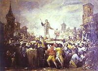 The Esquilache Riots, goya