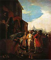 The Fair at Madrid, 1779, goya