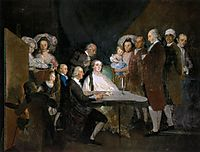 Family of the Infante Don Luis, 1783, goya