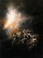 Fire or Fire Night, 1793-94, goya