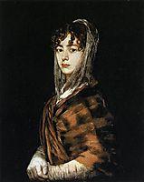 Francisca Sabasa y Garcia, 1808, goya