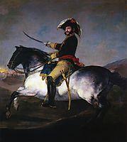 General Jose de Palafox, 1814, goya