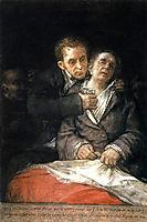 Goya Attended by Doctor Arrieta, 1820, goya