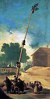 The greasy pole, 1786-87, goya