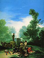 Highwaymen Attacking a Coach, 1787, goya
