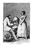 It is better to be idle, 1799, goya