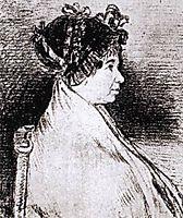 Josefa Bayeu, 1805, goya