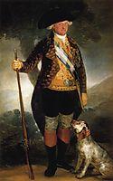 King Carlos IV in Hunting Costume, 1799, goya