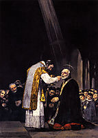 The Last Communion of St. Joseph Calasanz, 1819, goya