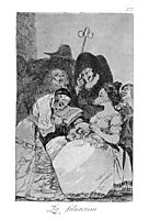The lineage, 1799, goya
