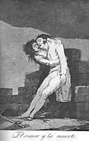 Love and Death, 1799, goya